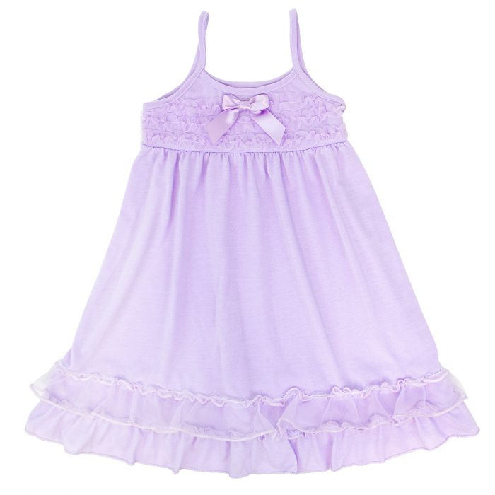 Laura Dare Lilac Strappy Gown