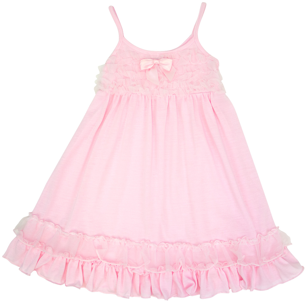 Laura Dare Pink Strappy Gown