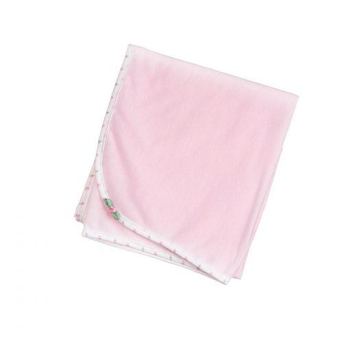 Rosebud Trim Blanket