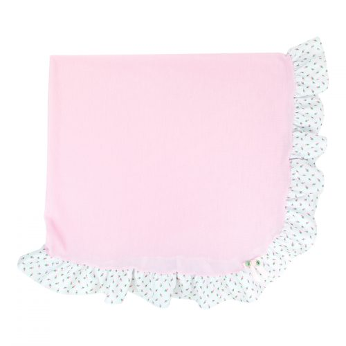 Rosebud Frilly Blanket