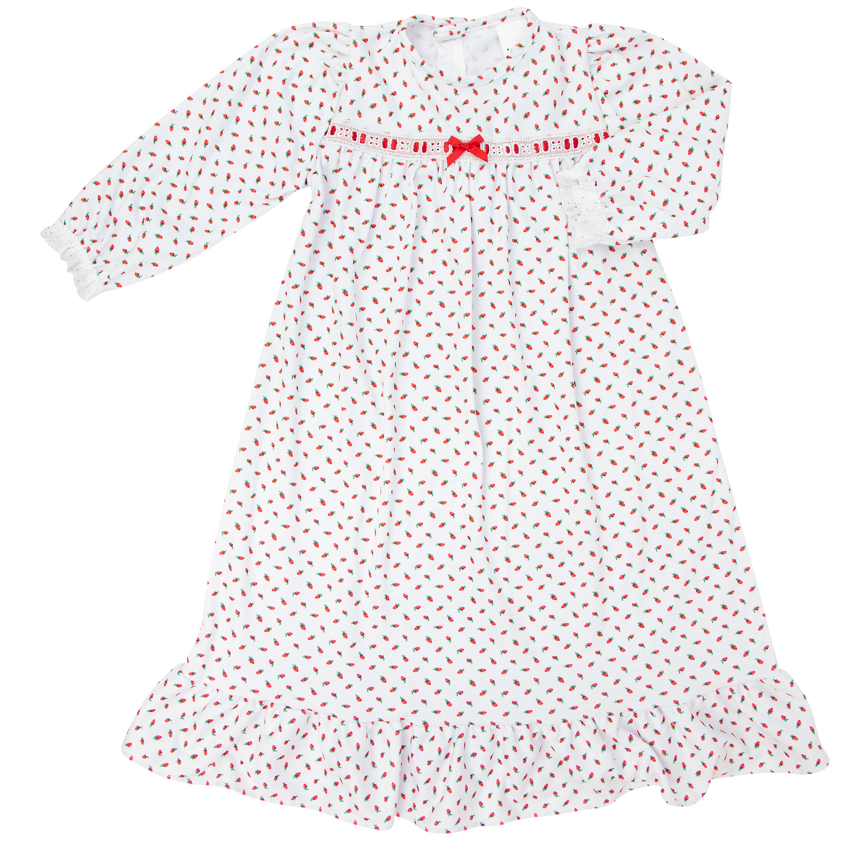 Laura Dare Rosebud Knit Gown