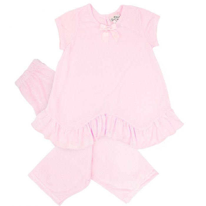 Laura Dare Little Girls Lilac Thank Heaven 2-Piece PJ Set
