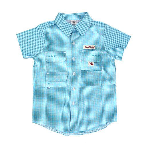 BullRed Aqua Gingham Shirt